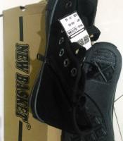 Supplier Sepatu New Basket All Black Pendek