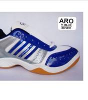 produsen pabrik sepatu olahraga badminton , lari , jogging kodachi blue silver
