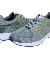 Sepatu Running Spotec Alpha Abu Hijau