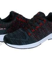 Sepatu Running Spotec Hitam Merah